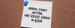 RCC Family Business Meeting